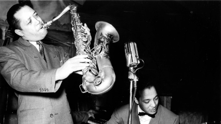 Lester Young саксофон